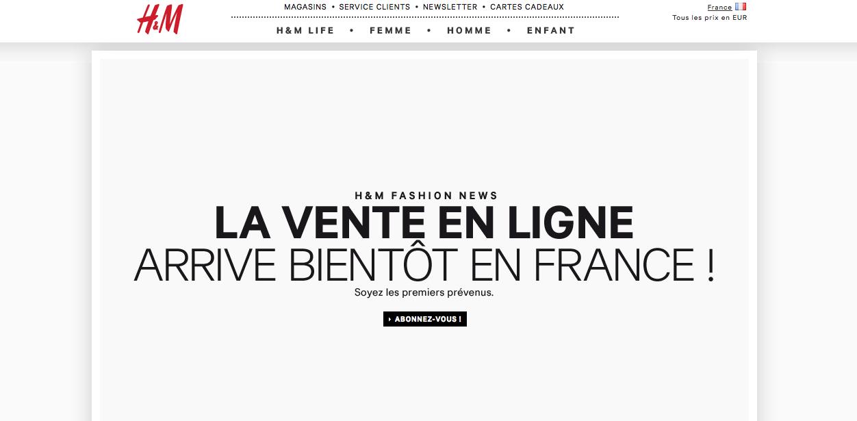 h m lance son e shop et son concept home elodie in paris. Black Bedroom Furniture Sets. Home Design Ideas