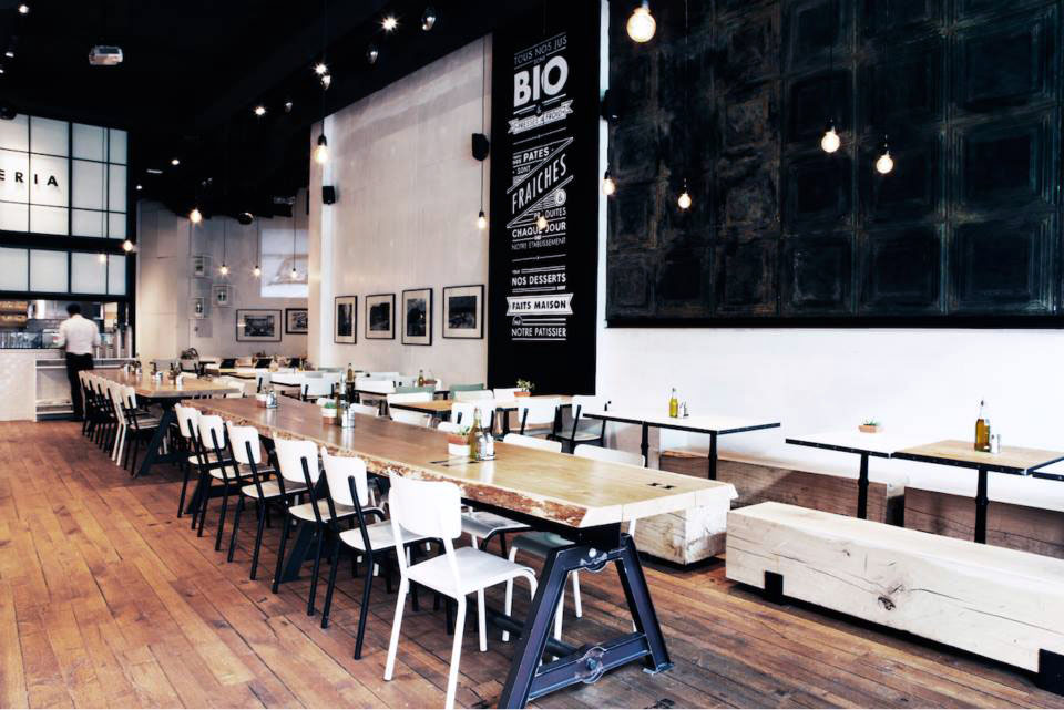 It restaurant italien paris aux airs de brooklyn - Cuisine designer italien ...