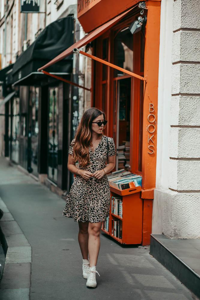 robe leopard