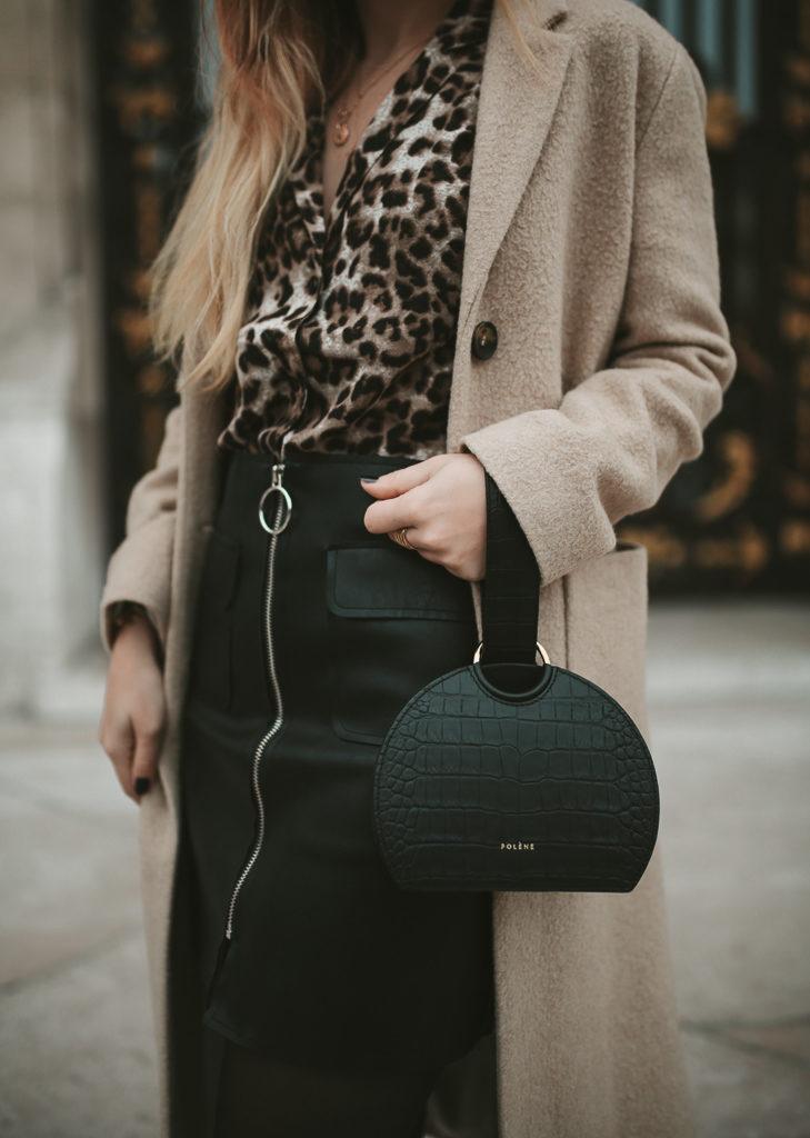 jupe simili cuir