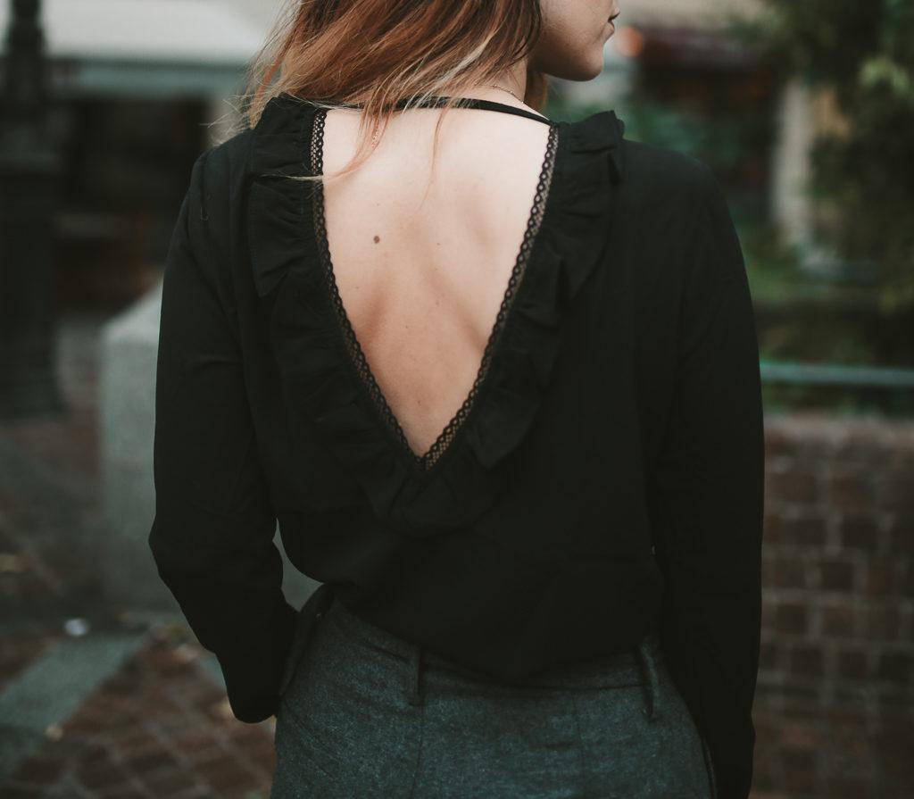 blouse volants